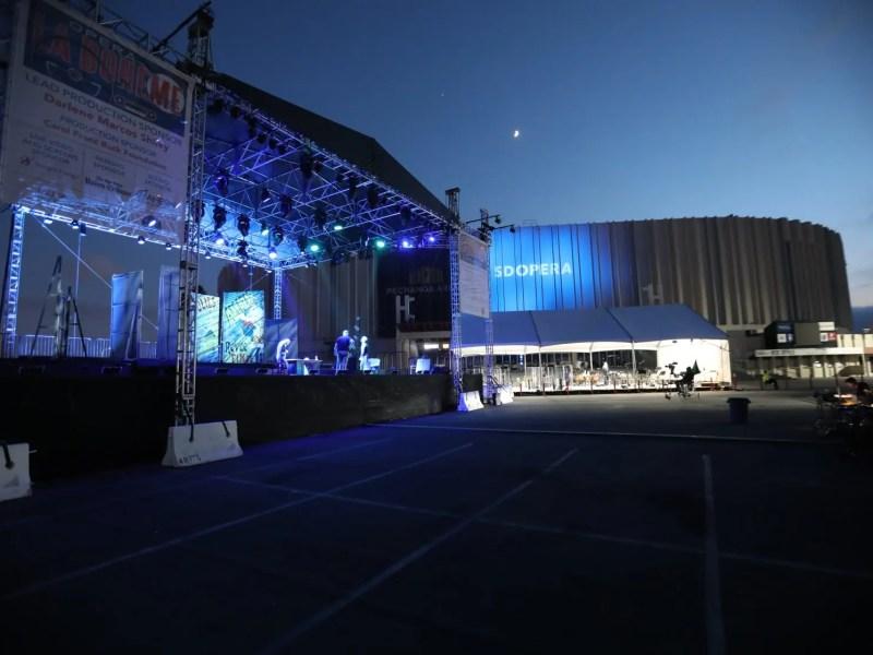 San Diego arts Sports Arena