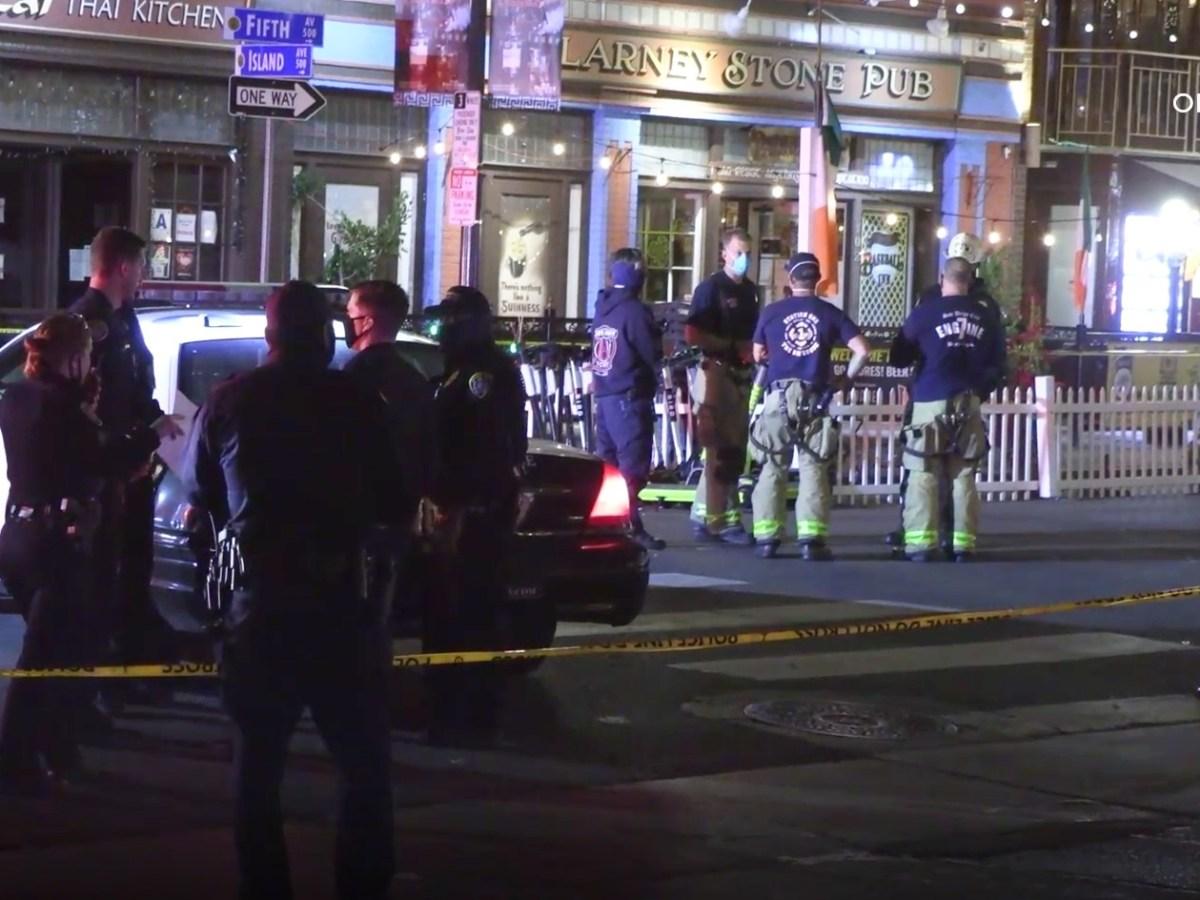 Police and paramedics