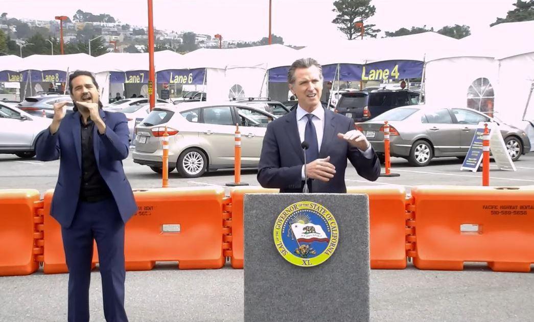 Gov. Newsom speaks in San Francisco
