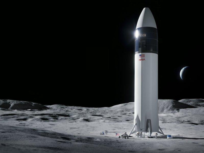 SpaceX lunar lander