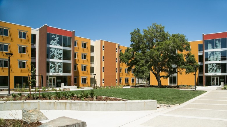 Student housing at UC Davis