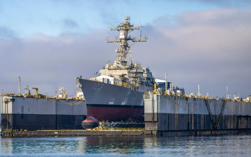 Future USS Lenah Sutcliffe Higbee is launched