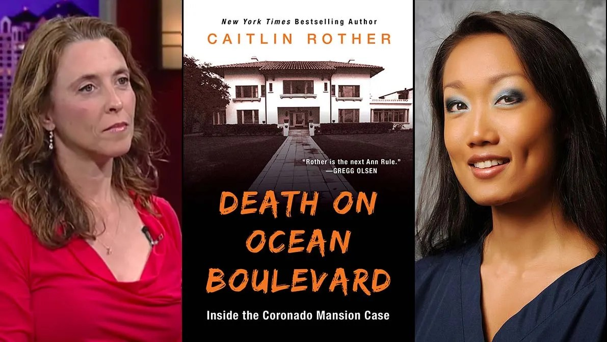Caitlin Rother (left) does a deep dive into the July 2011 hanging death of Rebecca Zahau in her latest true-crime book.