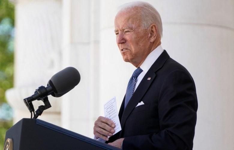President Biden at Arlington