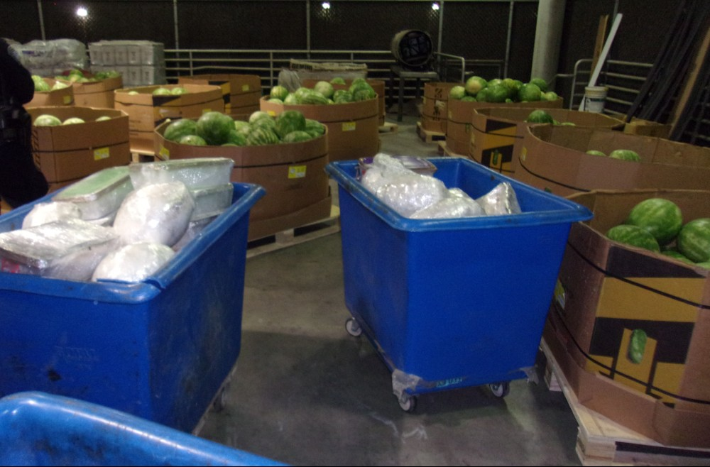 Meth hidden in watermelon shipment