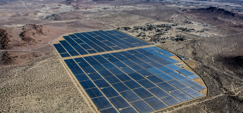 Recurrent Energy solar project in Kern County