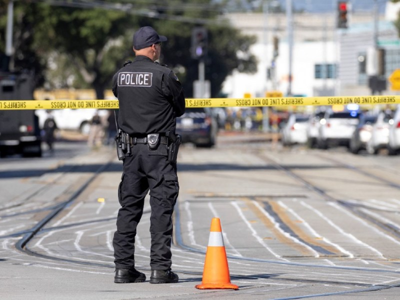 Police at scene of mass shooting