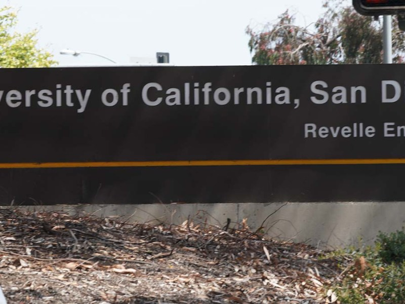 UC San Diego is attended by more than 35,000 students. Photo by Chris Stone