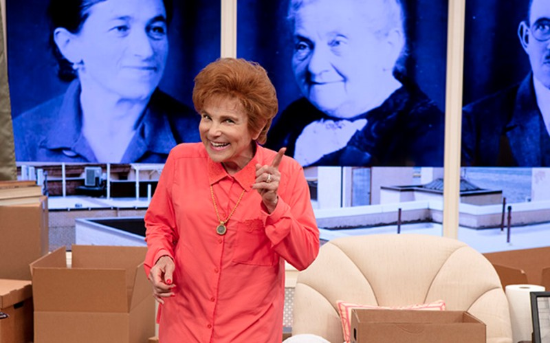 """A scene from """"Becoming Dr. Ruth"""""""