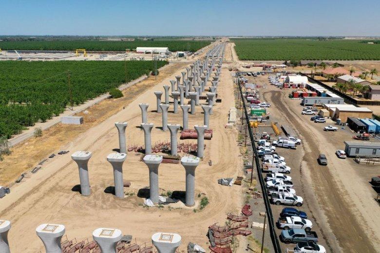 Construction of rail high-speed rail viaduct
