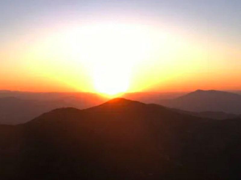Heat wave Sunrise