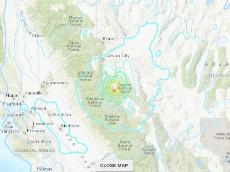 Earthquake Northern California