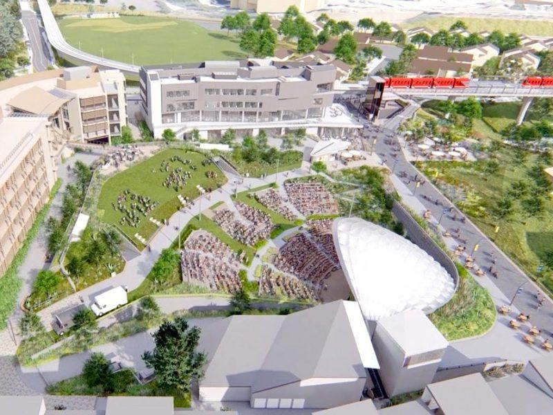 Rendering of Epstein Family Amphitheater