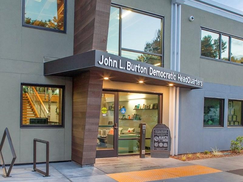 Democratic headquarters in Sacramento