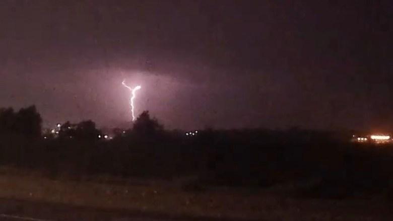 Lightning over Miramar