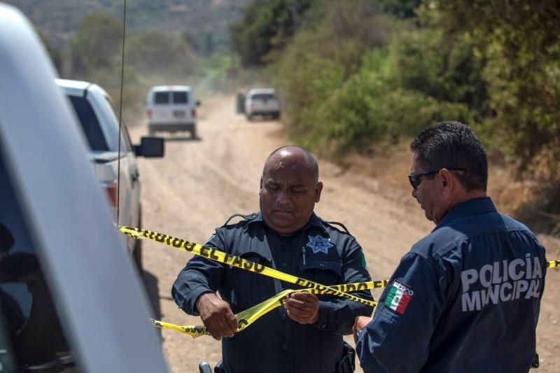 Crime scene in Rosarito