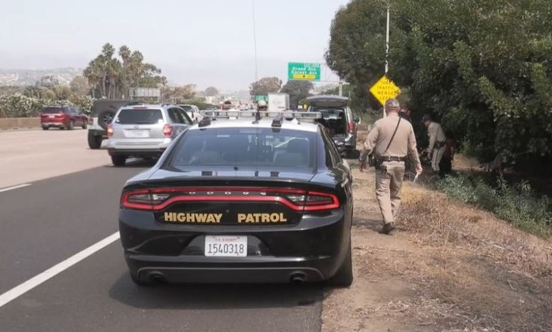 CHP officer where body was found