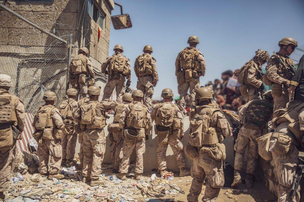 Marines assist Kabul evacuation