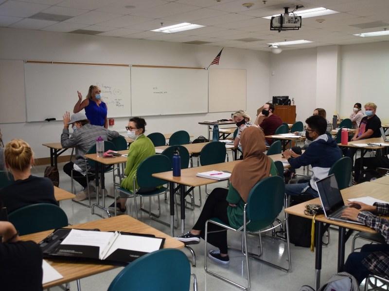 Class at Miramar College