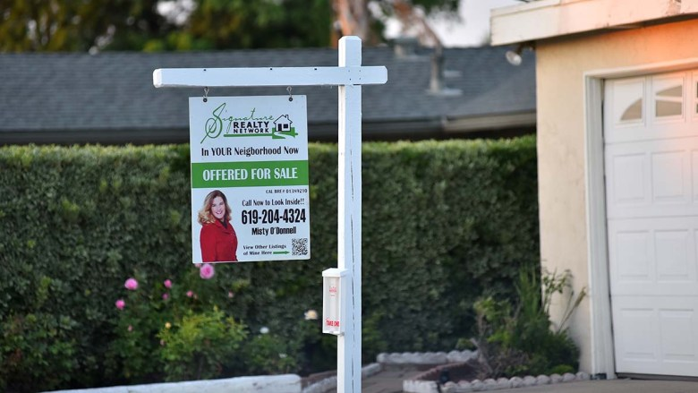 House for sale in La Mesa. Photo by Chris Stone