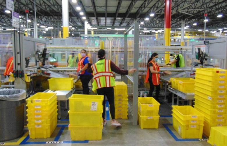 Amazon associates sort packages