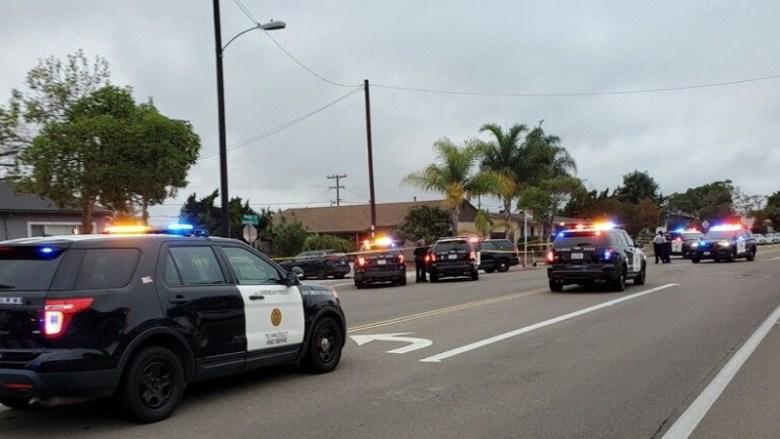 Police at Bay Ho shooting