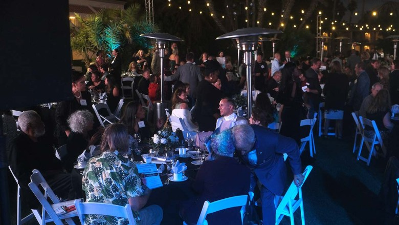 About 500 attendees were expected for the gala in Mission Bay. Photo by Chris Stone