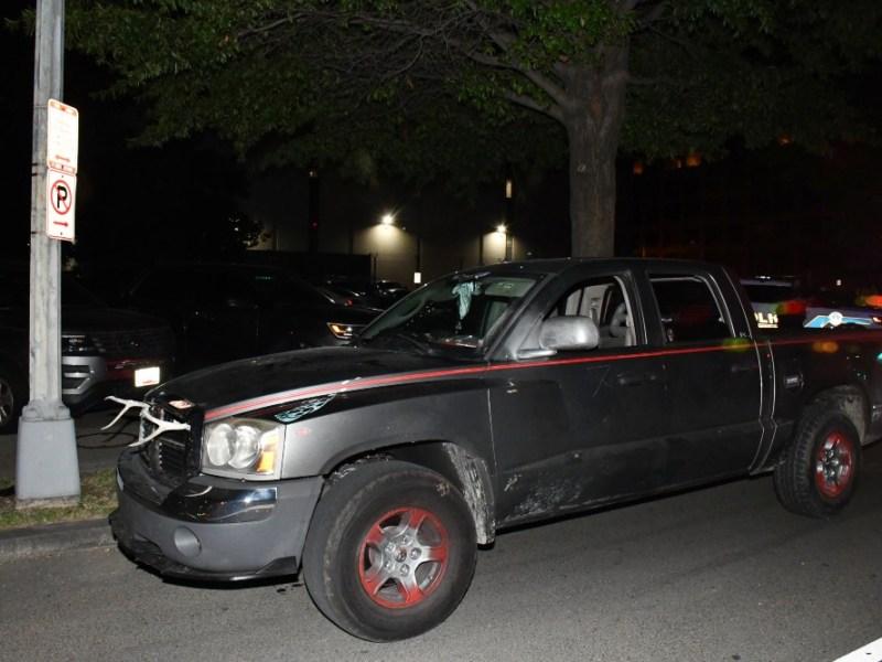 Dodge Dakota stopped by U.S. Capitol Police