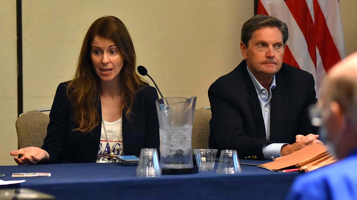 Ashlee Titus and Fred Whitaker covered congressional and other election efforts.