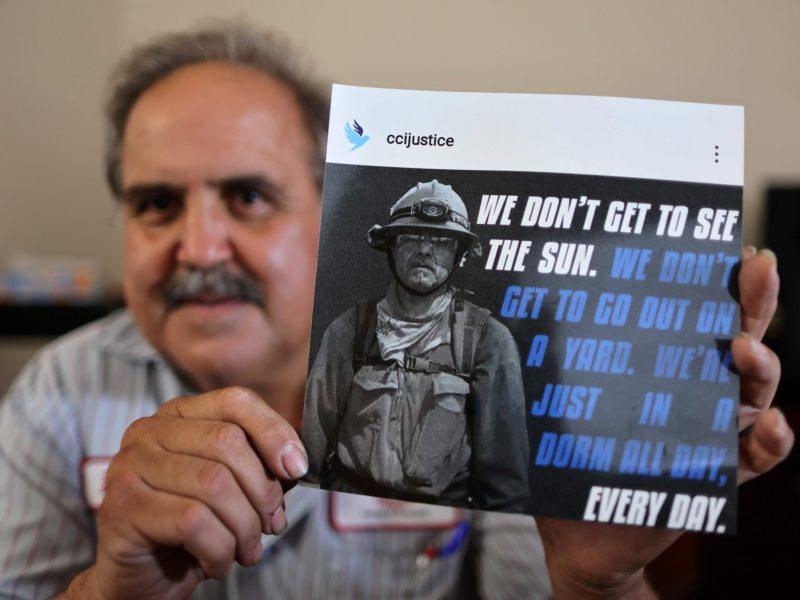 Photo of Leonel Sanchez as firefighter