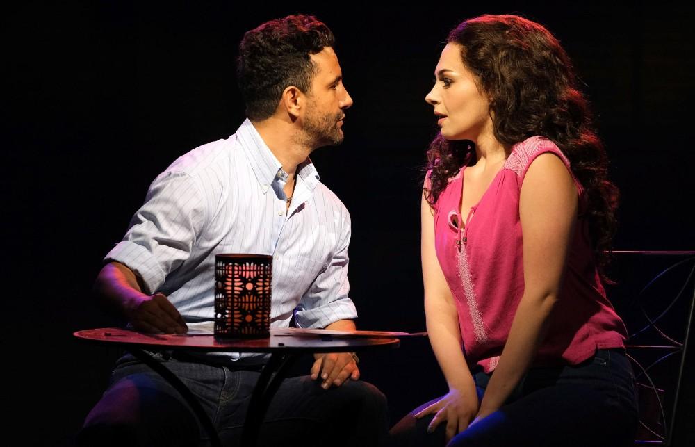 Eduardo Enrikez and Ariella Kvashny as Emilio and Gloria Estefan
