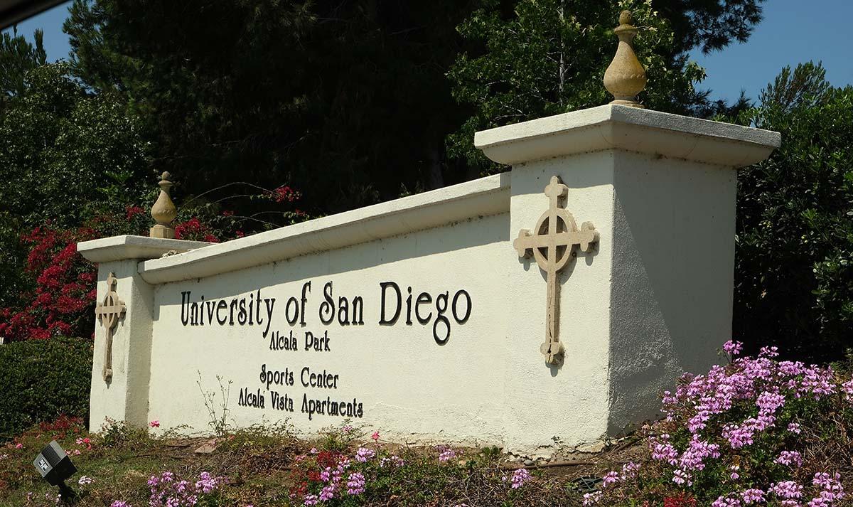 The University of San Diego. Photo by Chris Stone