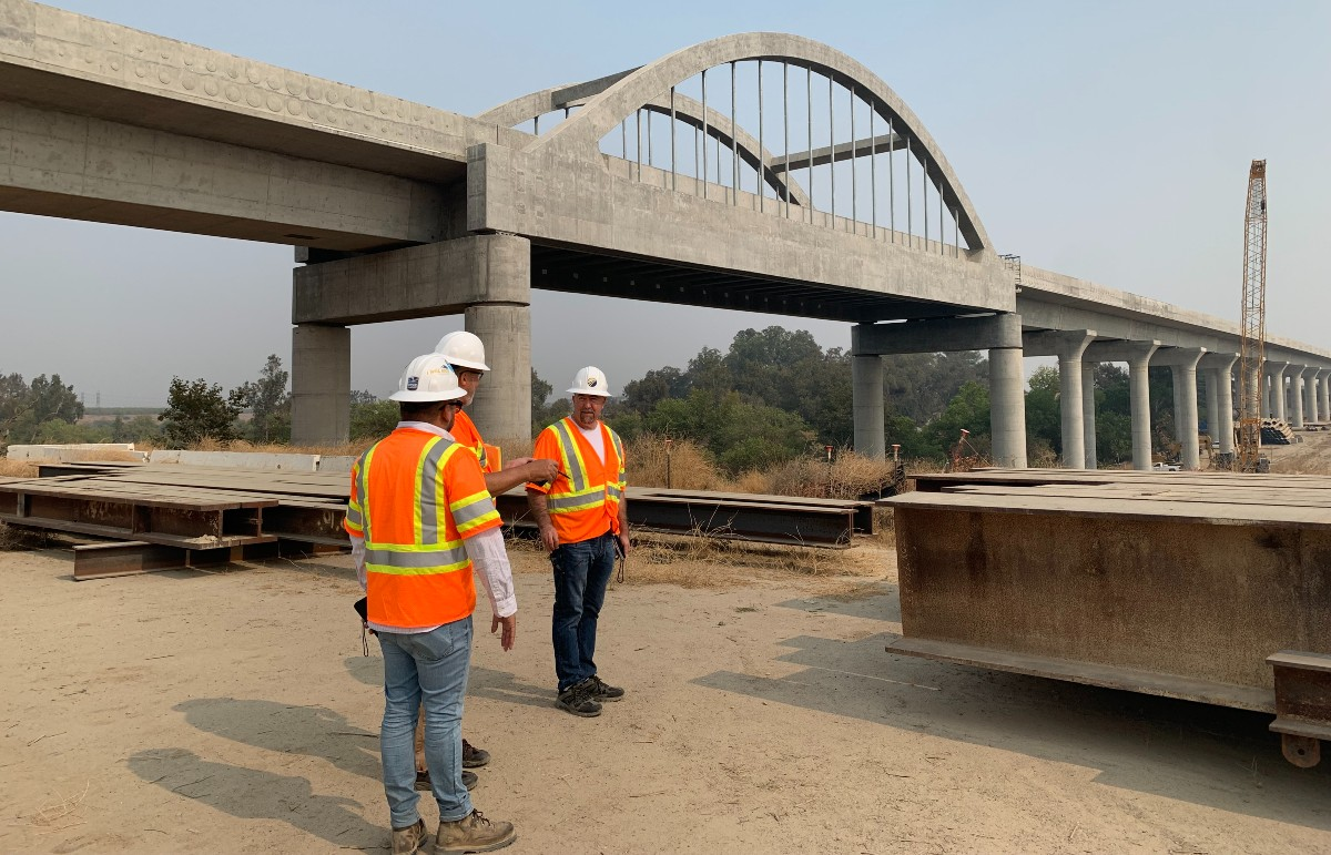 Bullet train construction