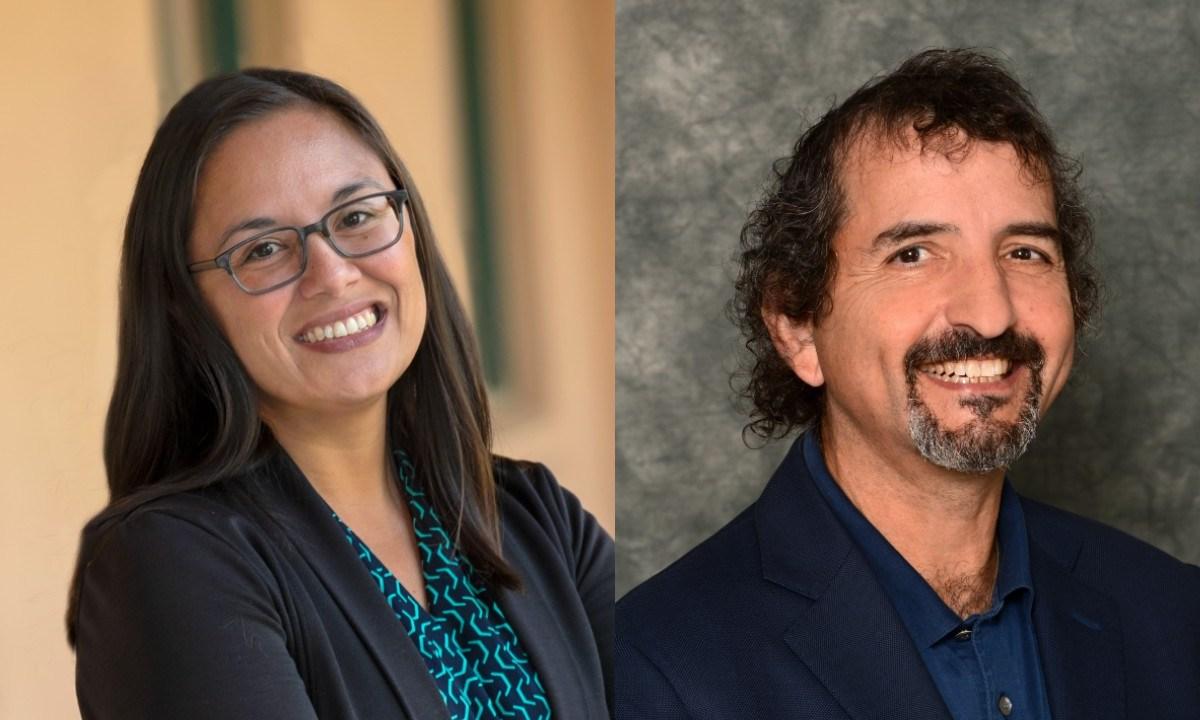 Lorena Ruggero and David Ogul