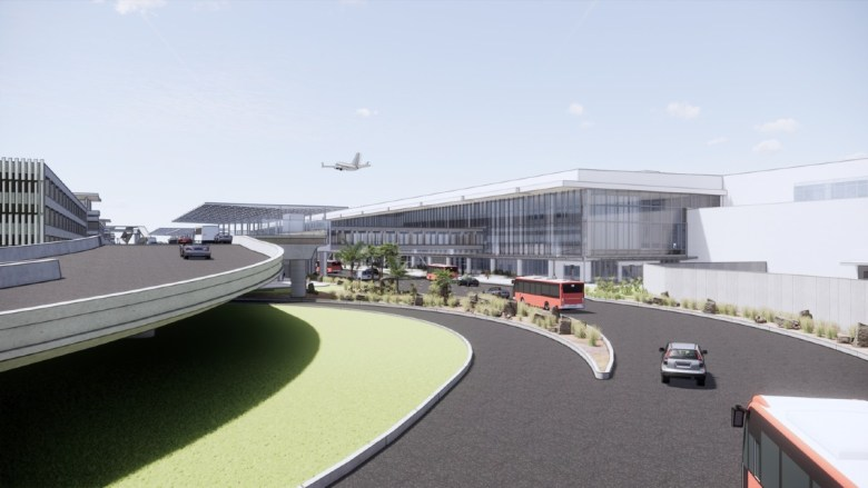 Terminal 1 rendering