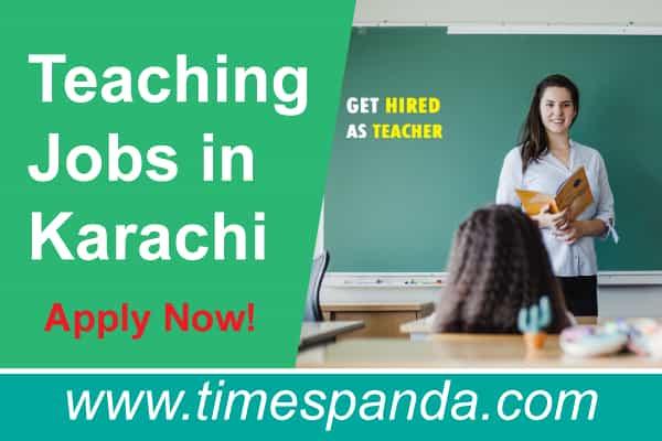 Latest Teaching Jobs in Karachi
