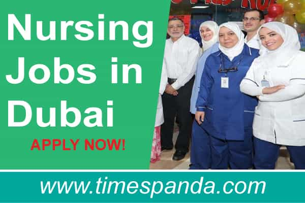 Nursing Jobs in Dubai Government Hospitals