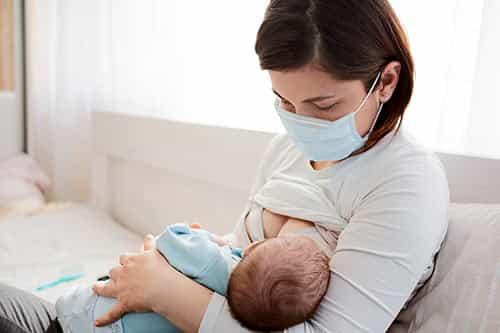 precautions for newborns during covid?