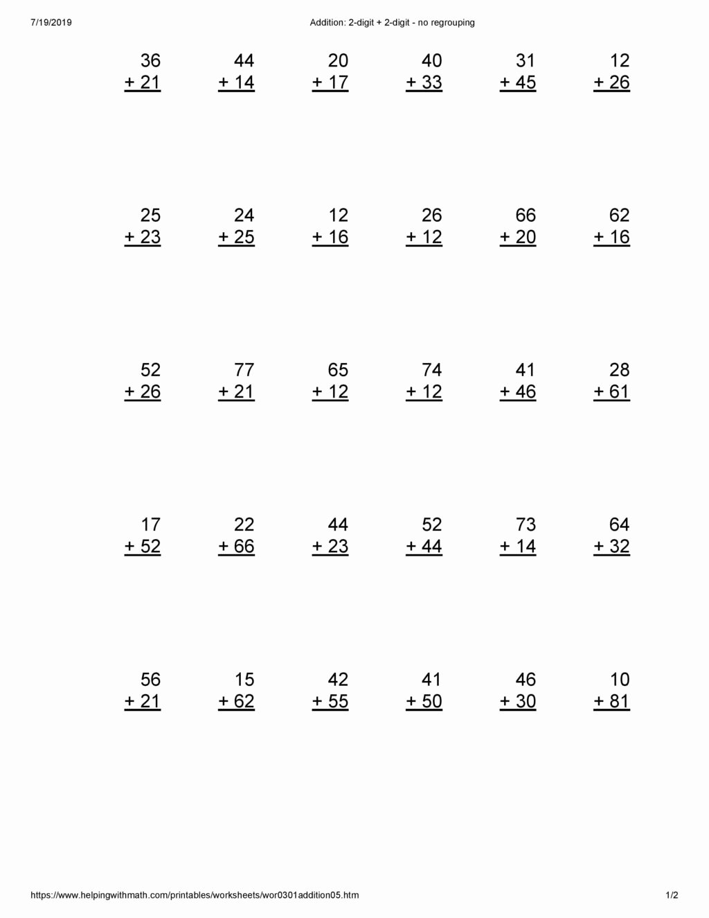 Bar Model Multiplication Worksheets