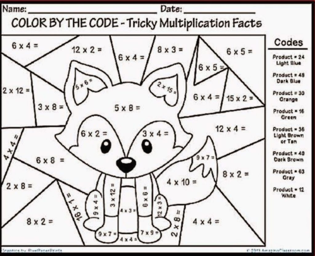 Christmas Worksheets 3rd Grade Math