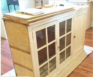 trash to treasure kitchen cabinet