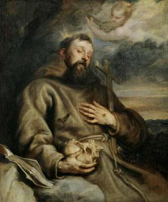 St. Francis of Assisi, Anthony Van Dyck, 1627