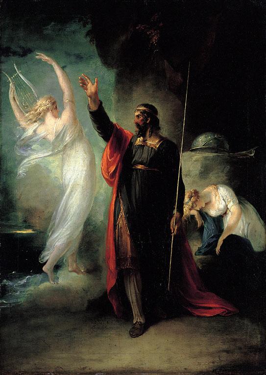 Prosper and Ariel, William Hamilton, 1797