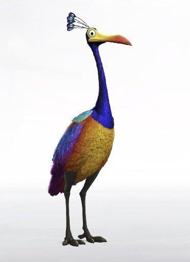 Kevin, flightless bird of Paradise Falls