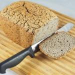 Fermented buckwheat bread,