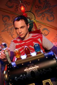 Sheldon in the Time Machine