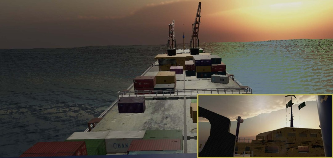 Scene 10: Charlie Dream Cargo Ship