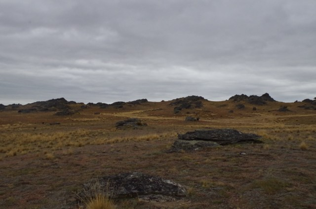 Rohan, home of the horse lords. And lots of rocks.