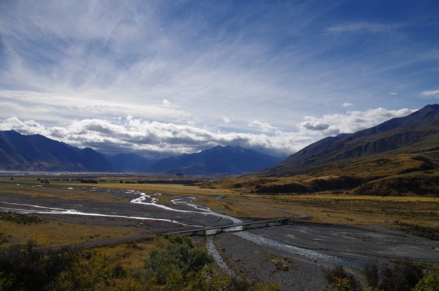 The Edoras film location from Lord of the Rings: The Two Towers