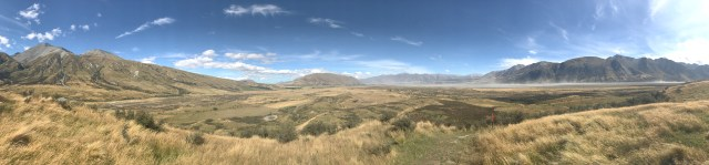 View from the top of Edoras AKA Mount Sunday